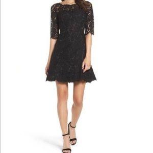 Eliza J Lace flares dress